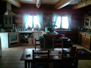 světnice, kuchyňo-obývák