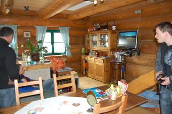 kuchyňo-obývák
