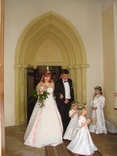 novomanželé Rusynovi