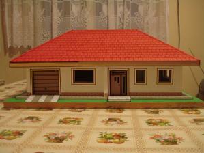 maketa domu - hlavný vchod
