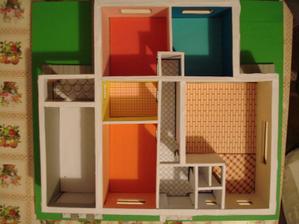 rozloženie domu