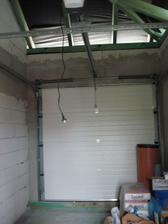 garážová brána na el. pohon