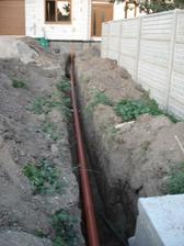 osadená kanalizácia a voda