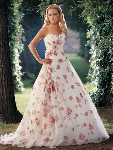Svatební šaty - růžové i červené až do bordó - Obrázek č. 31