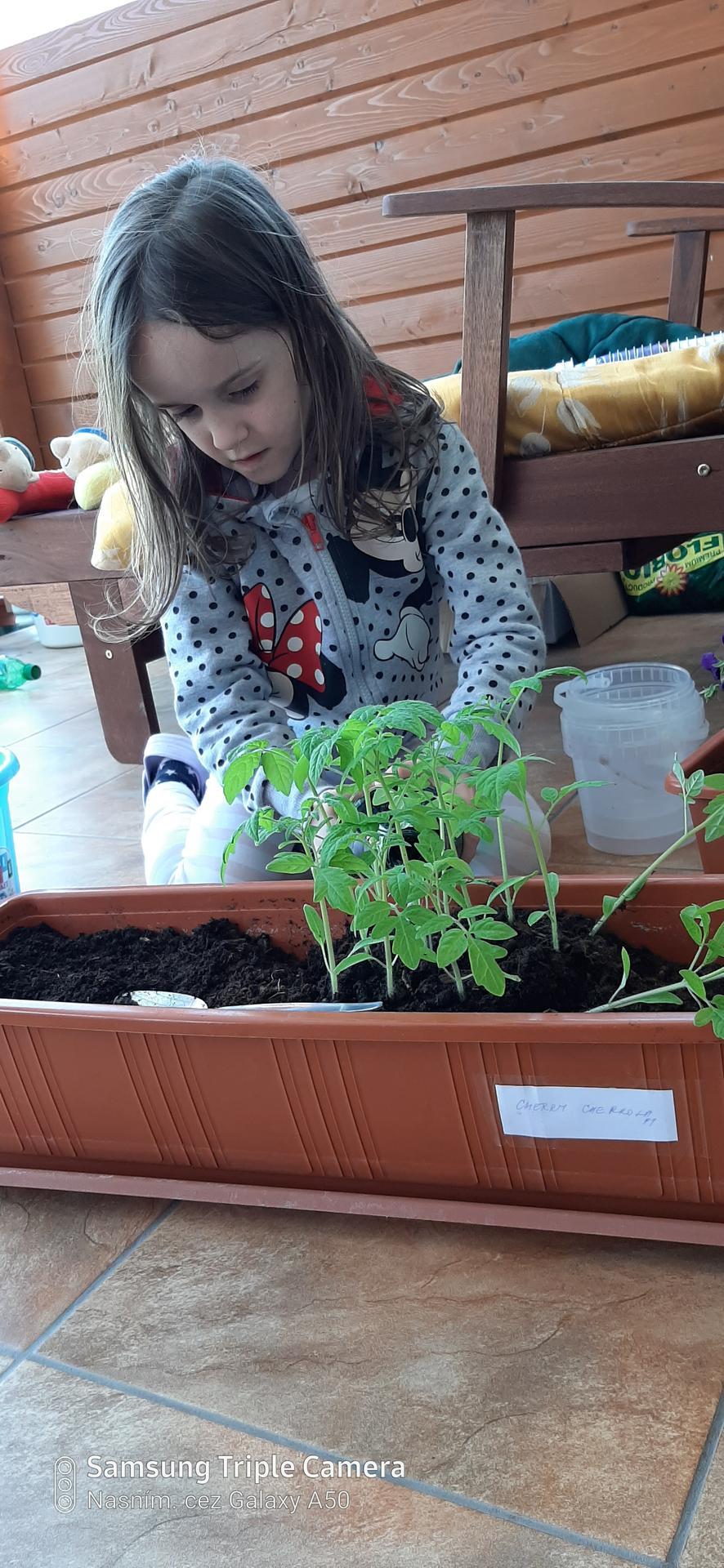 🏠🌞🌺❤🌷 Zahrada a jej dalsi rok...2020 🌱🐞🐛🦋🍓🥕🍅🌺❤ - Mala pomocnicka.