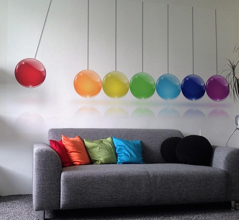 Inšpirácie s tapetami - realizácie v interiéroch - Obrázok č. 1
