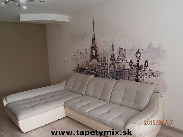 Inšpirácie s tapetami - realizácie v interiéroch - Obrázok č. 3