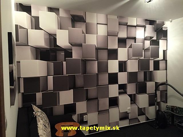 Inšpirácie s tapetami - realizácie v interiéroch - Obrázok č. 10