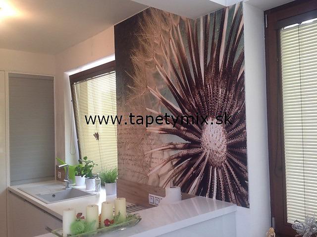 Inšpirácie s tapetami - realizácie v interiéroch - Obrázok č. 15