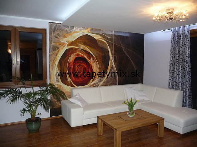 Inšpirácie s tapetami - realizácie v interiéroch - Obrázok č. 16