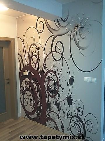 Inšpirácie s tapetami - realizácie v interiéroch - Obrázok č. 18
