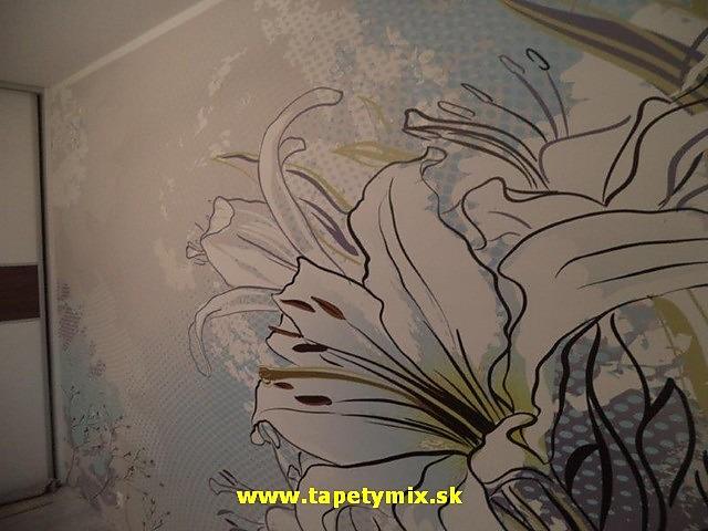 Inšpirácie s tapetami - realizácie v interiéroch - Obrázok č. 20