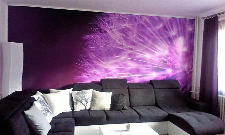 Inšpirácie s tapetami - realizácie v interiéroch - Obrázok č. 21