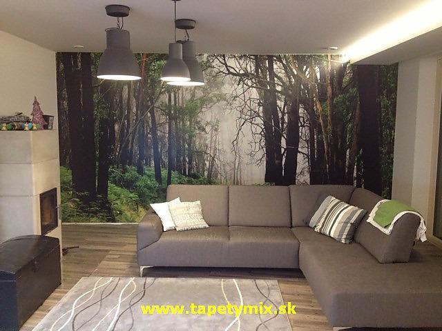 Inšpirácie s tapetami - realizácie v interiéroch - Obrázok č. 23
