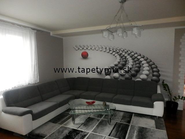 Inšpirácie s tapetami - realizácie v interiéroch - Obrázok č. 24
