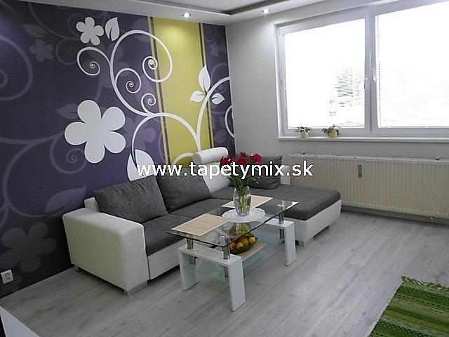 Inšpirácie s tapetami - realizácie v interiéroch - Obývačka - tapeta na mieru