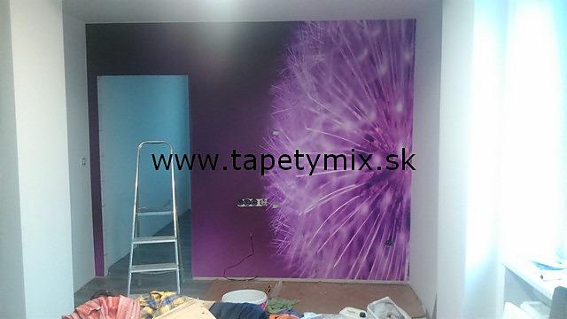 Inšpirácie s tapetami - realizácie v interiéroch - Obrázok č. 44
