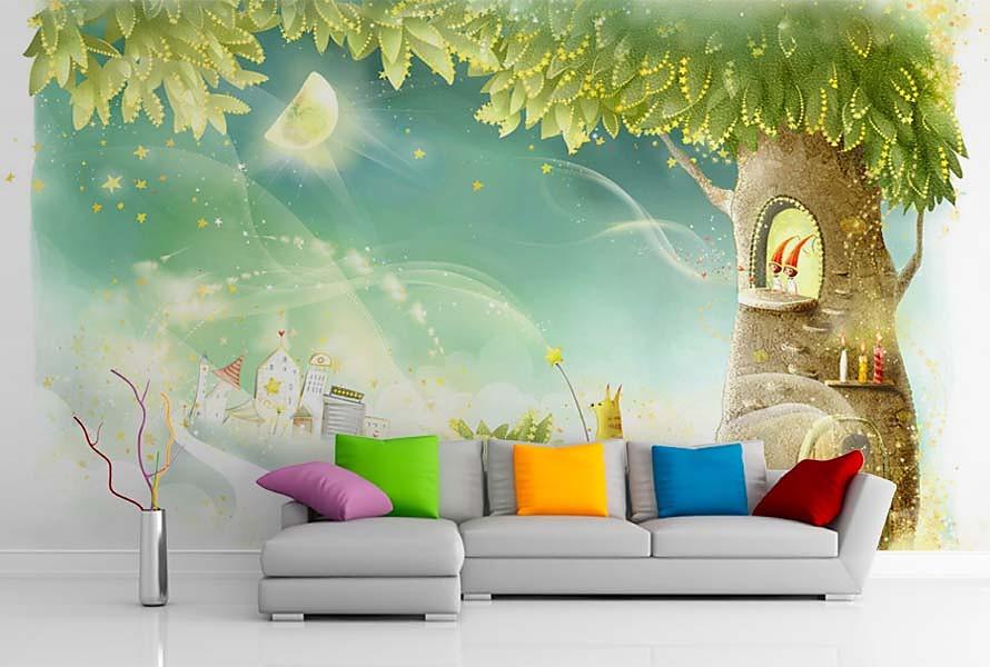 Aj detská izba potrebuje peknú tapetu - Obrázok č. 1