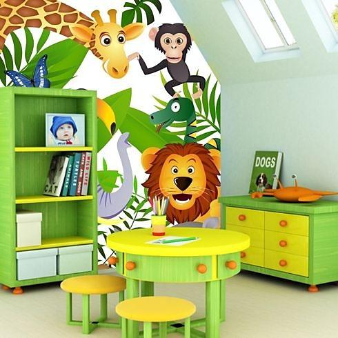 Aj detská izba potrebuje peknú tapetu - Obrázok č. 2