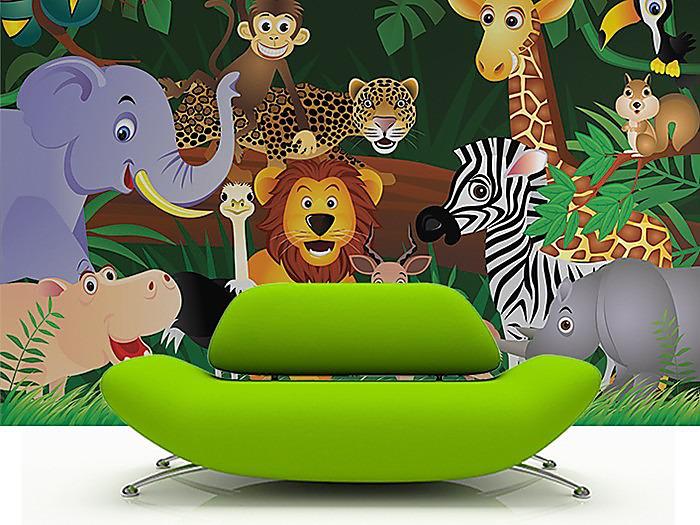 Aj detská izba potrebuje peknú tapetu - Obrázok č. 9