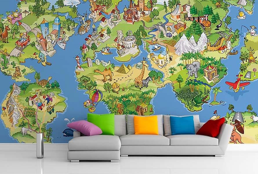 Aj detská izba potrebuje peknú tapetu - Obrázok č. 13