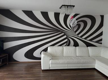Inšpirácie s tapetami - realizácie v interiéroch - Obrázok č. 62