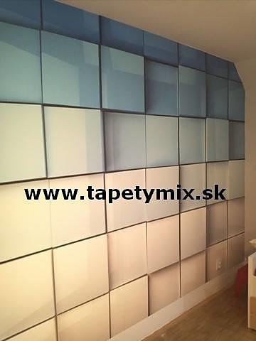 Inšpirácie s tapetami - realizácie v interiéroch - Obrázok č. 70