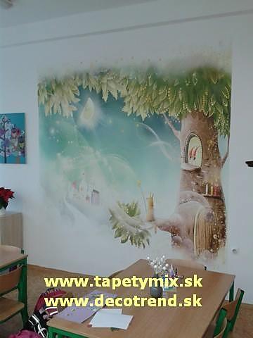 Inšpirácie s tapetami - realizácie v interiéroch - Obrázok č. 71