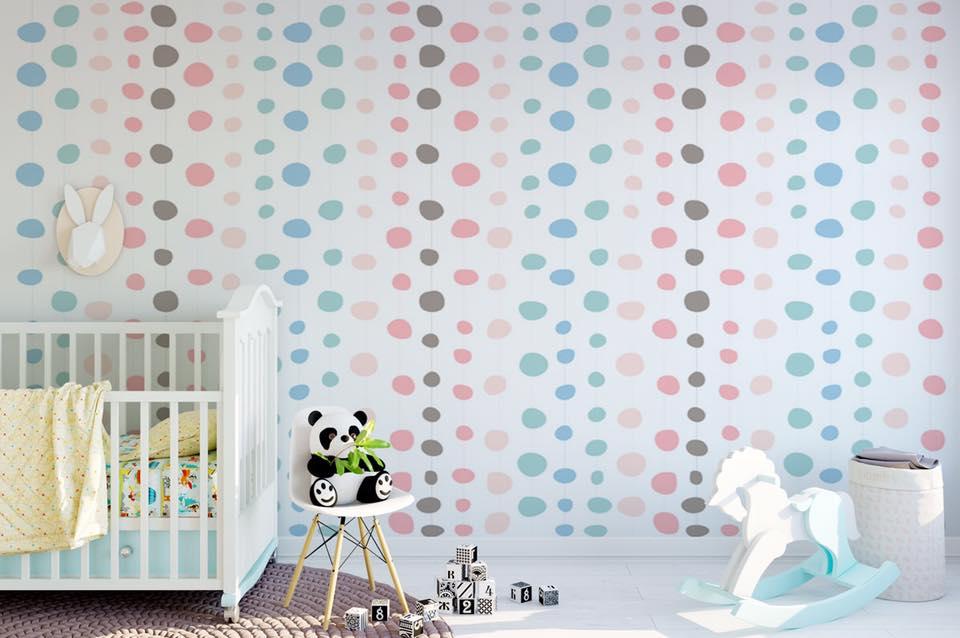 Aj detská izba potrebuje peknú tapetu - Obrázok č. 15