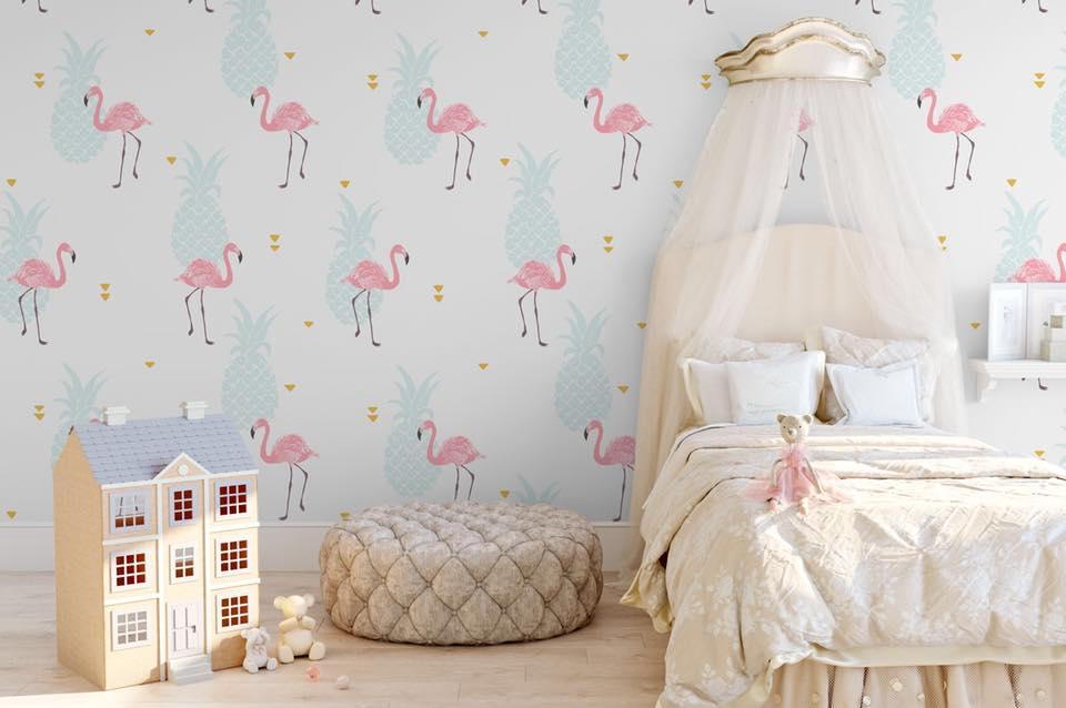 Aj detská izba potrebuje peknú tapetu - Obrázok č. 16
