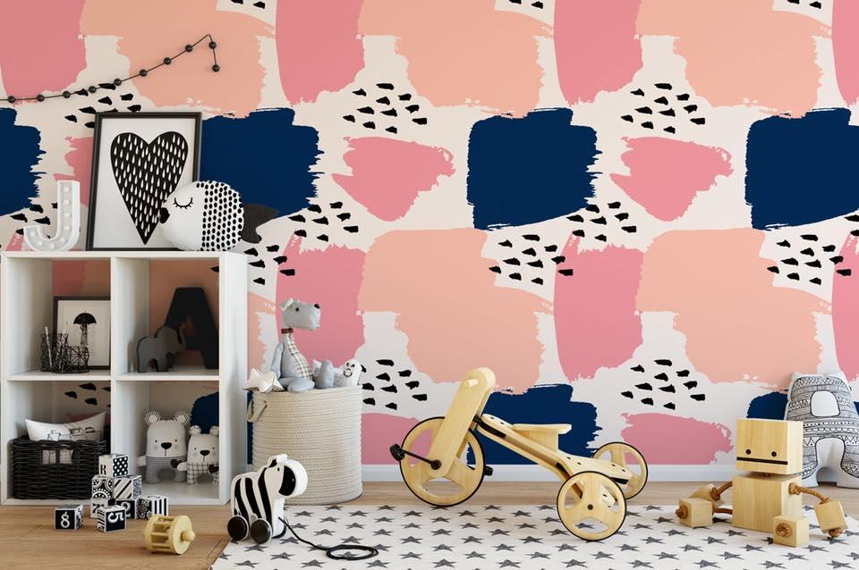 Aj detská izba potrebuje peknú tapetu - Obrázok č. 17