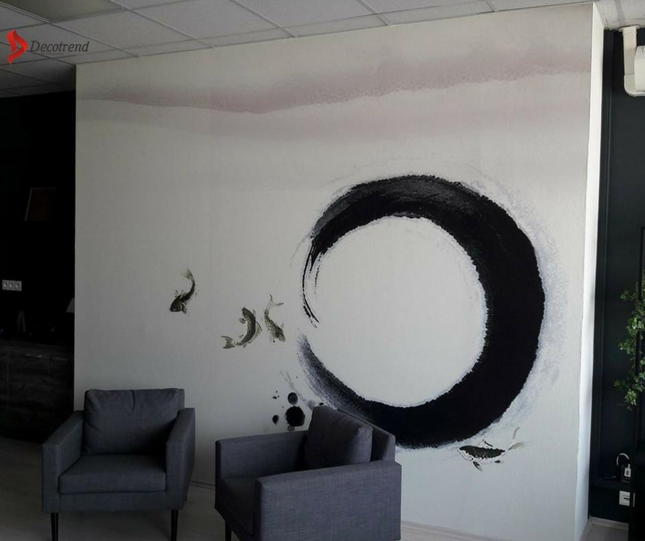 Inšpirácie s tapetami - realizácie v interiéroch - Fototapeta z vlastného námetu na mieru