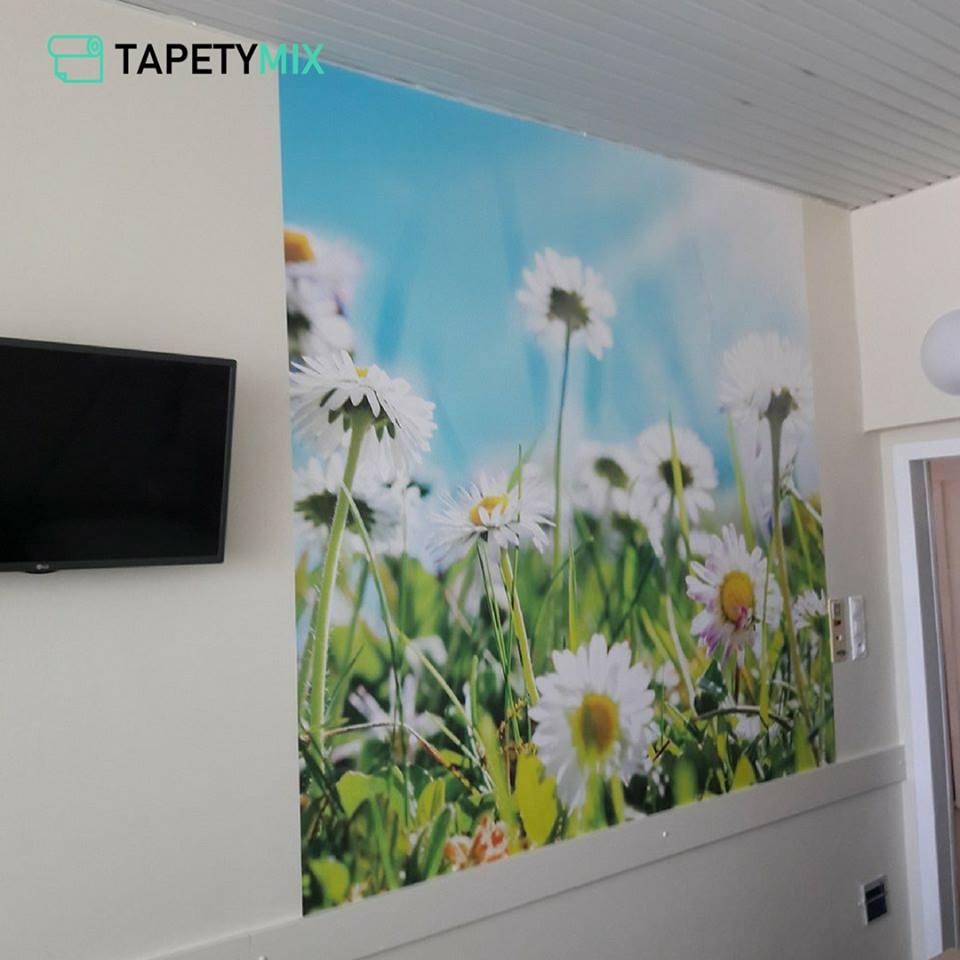 Inšpirácie s tapetami - realizácie v interiéroch - tapeta vo fakultnej nemocnici v BB