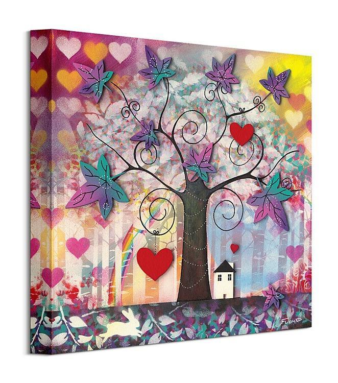 Obrazy - limitovaná edícia - www.decotrend.sk Obraz Home Sweet Home - obraz Frates Dennis WDC91532