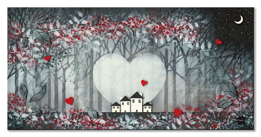 Obrazy - limitovaná edícia - www.decotrend.sk  obraz Frates Dennis - Heart of the Forest