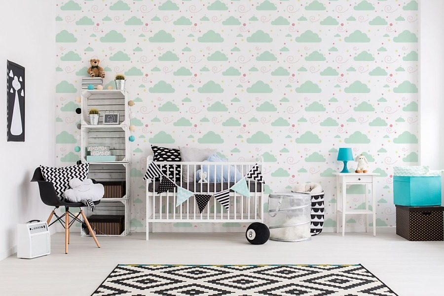 Aj detská izba potrebuje peknú tapetu - Obrázok č. 31