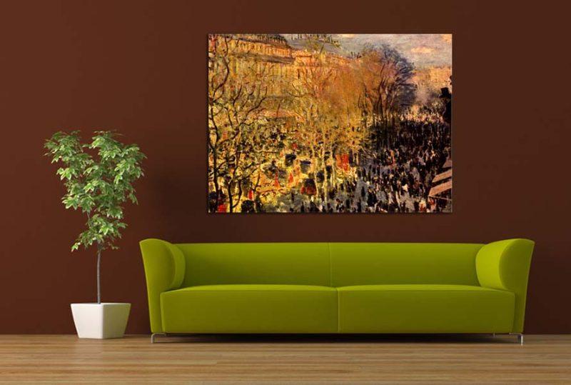 Obrazy - reprodukcie Claude Monet online - Obrázok č. 16