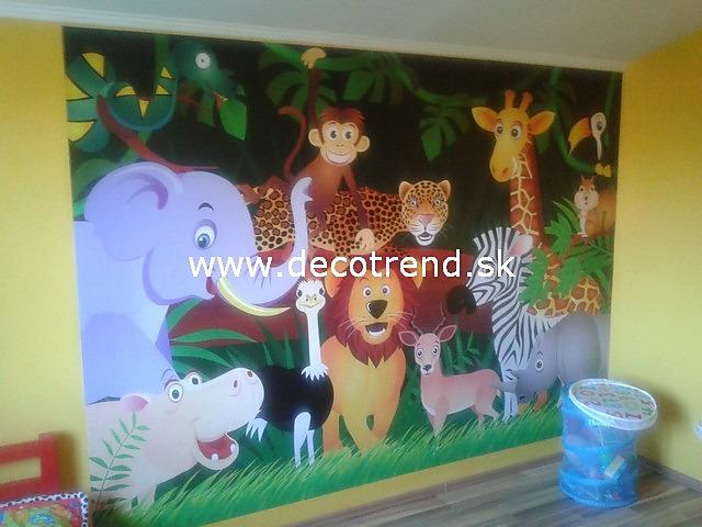 Aj detská izba potrebuje peknú tapetu - Obrázok č. 33