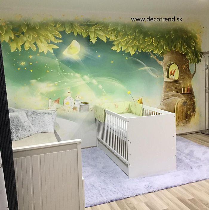 Aj detská izba potrebuje peknú tapetu - Obrázok č. 44