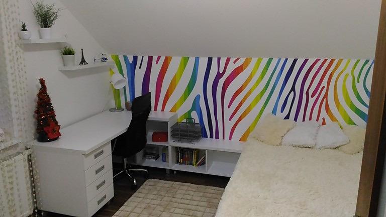 Aj detská izba potrebuje peknú tapetu - Obrázok č. 46