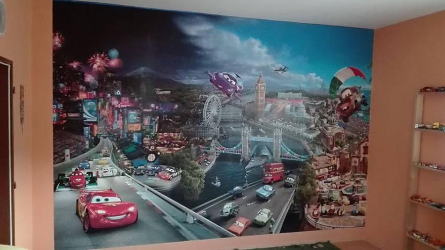 Aj detská izba potrebuje peknú tapetu - Obrázok č. 47