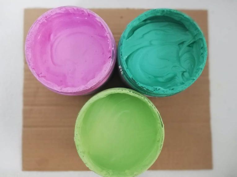 Kriedové farby - Chalk paint 🎨🖌 - kriedové farby riediteľné vodou
