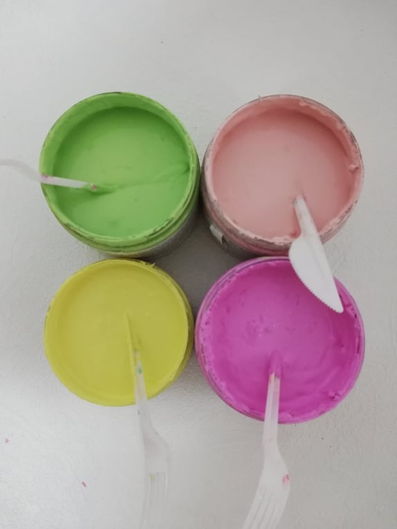 Kriedové farby - Chalk paint 🎨🖌 - Obrázok č. 30