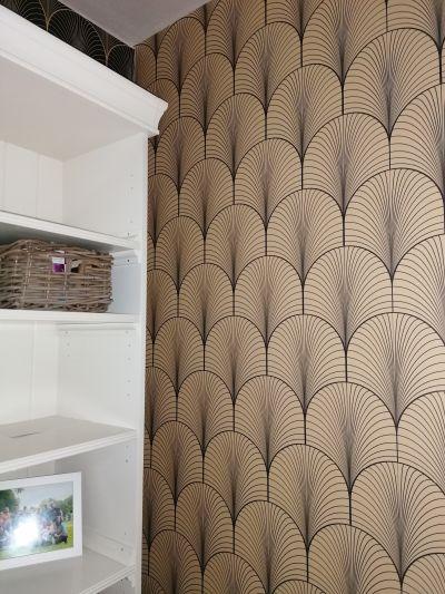 Inšpirácie s tapetami - realizácie v interiéroch - Obrázok č. 187