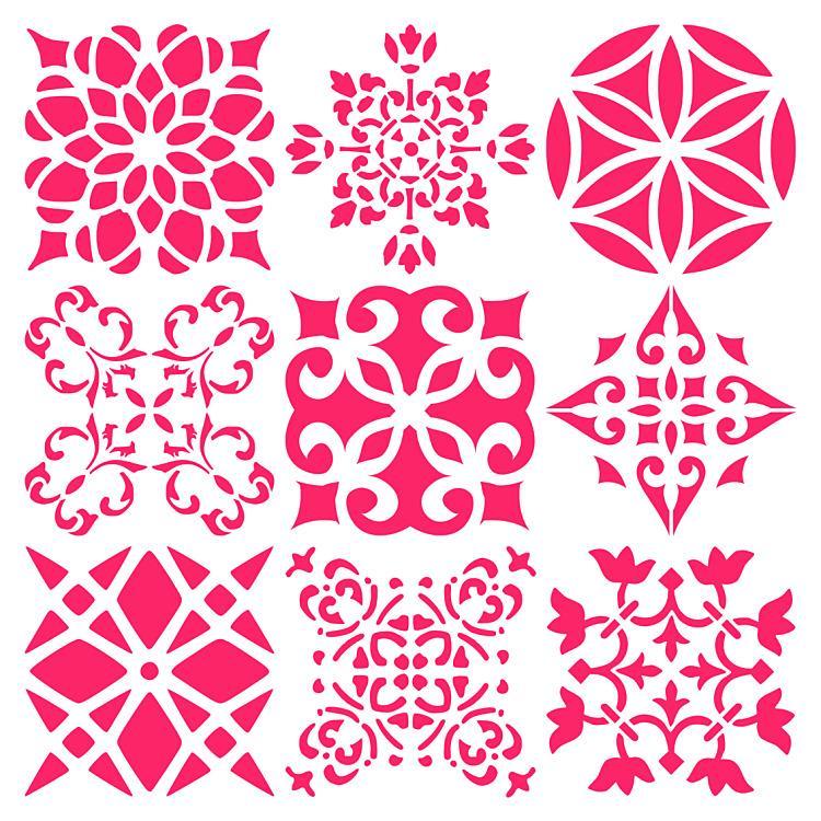 Šablóny - obkladačkové vzory 👍👍👍 - Obrázok č. 79