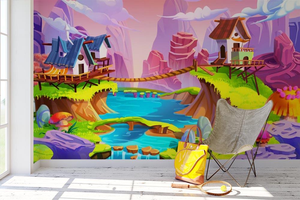 Aj detská izba potrebuje peknú tapetu - Obrázok č. 58