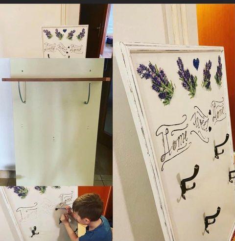 Redizajnujeme, maľujeme, tvoríme - Kriedová farba Snow white HA-2 + matný lak