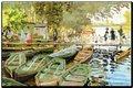 Obraz reprodukcia MONET Bathers at La Grenouillere,