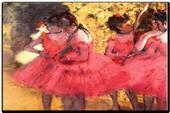 Obraz - reprodukcia Edgar Degas The Pink Dancers,