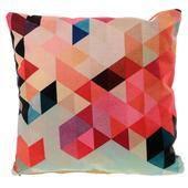 Farebná ľanová obliečka Mozaika,